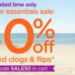 Crocs Flips & Clogs