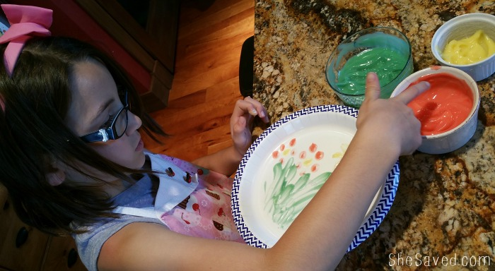 Edible Finger Paints are perfect for turning art time into snack time as well!