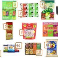 Round Up of Back to School Snacks on Amazon