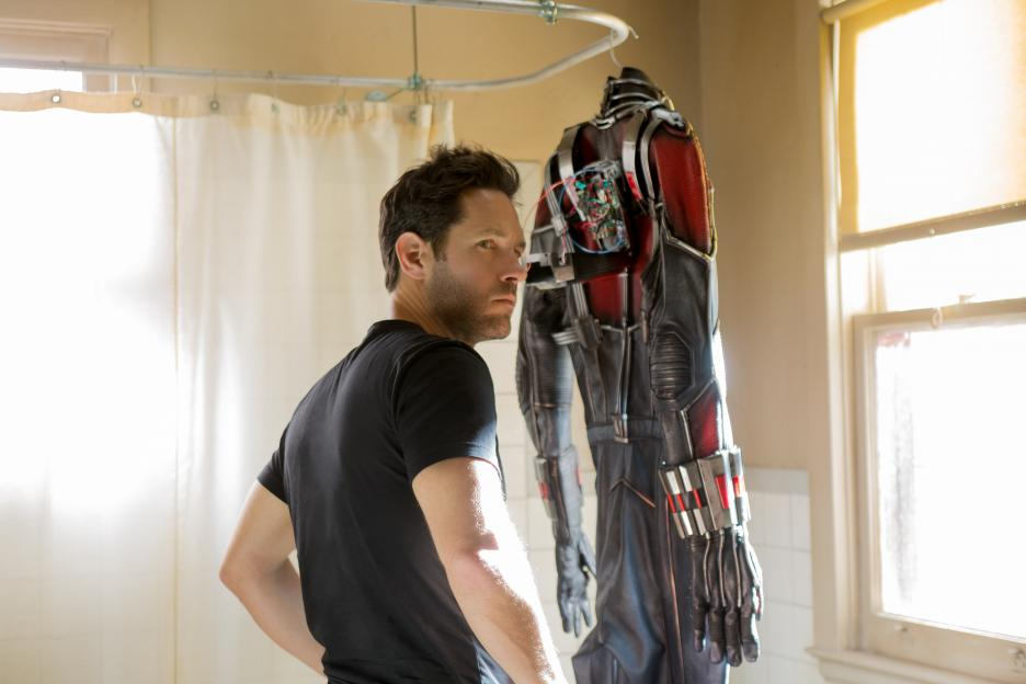 Paul Rudd AntMan suit