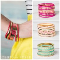 Cents Of Style Bangle Sets For $4.99 Shipped