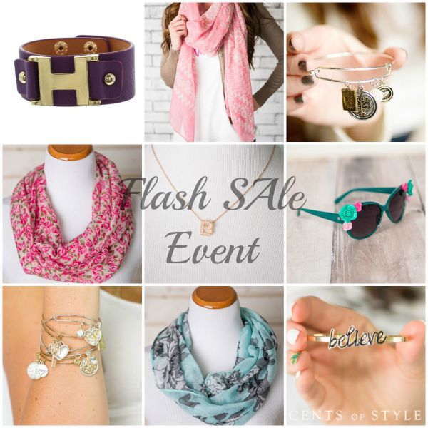 Cents Of Style Flash Sale Event