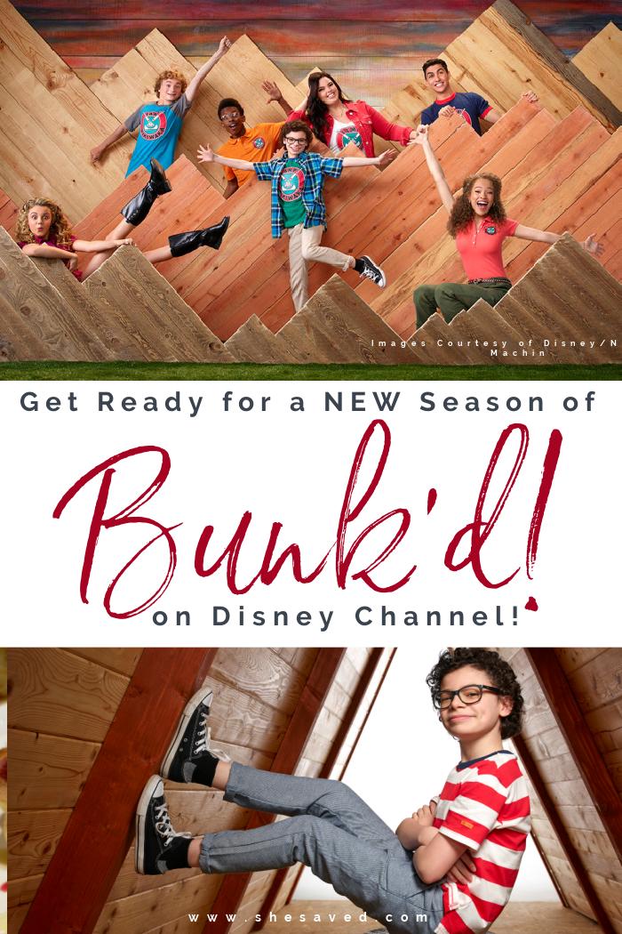 Disney Channel Bunk'd Season 6 on June 3rd