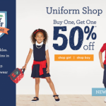 Gymboree Buy One Get One 50% Off All Uniforms