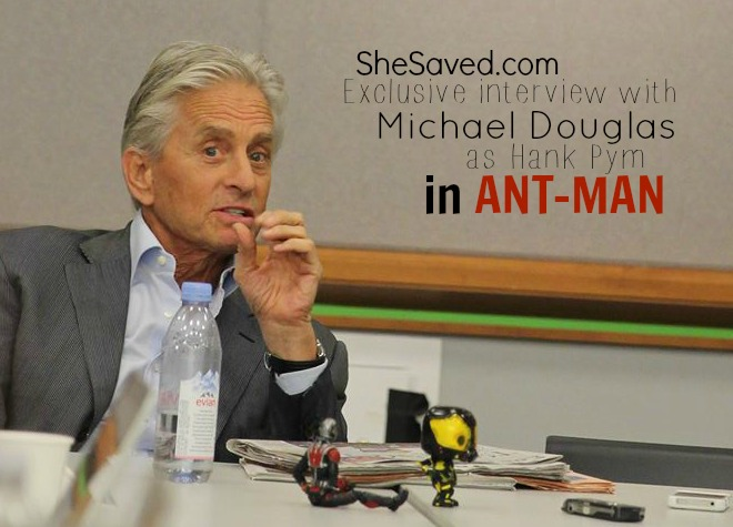 Michael Douglas ANTMAN interview