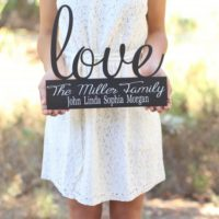 Personalized Family Wall Sign For $19.99