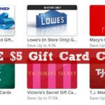 FREE $5 Gift Card Credit to RAISE!!