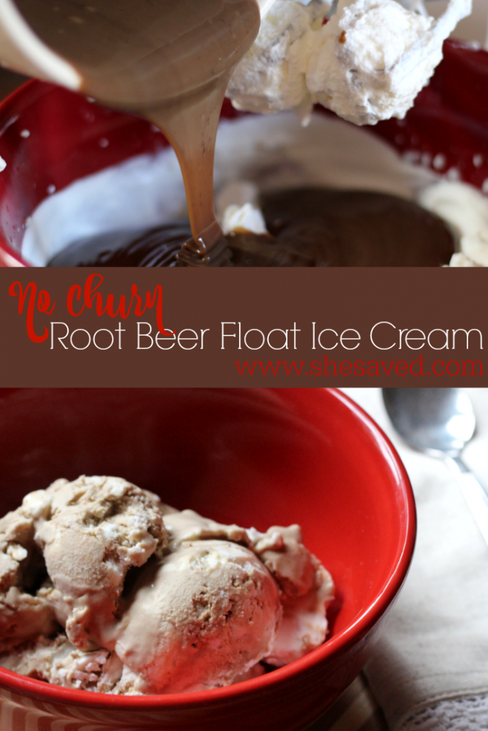 If you love ice cream then this No Churn Root Beer Float Ice Cream recipe will take dessert to a whole new level! Easy and delicious it is an old fashioned tasting dessert that the whole family will love!