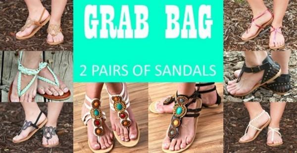 Sandal Grab Bag