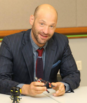EXCLUSIVE INTERVIEW: Talking about ANT-MAN with Corey Stoll AKA Yellow Jacket