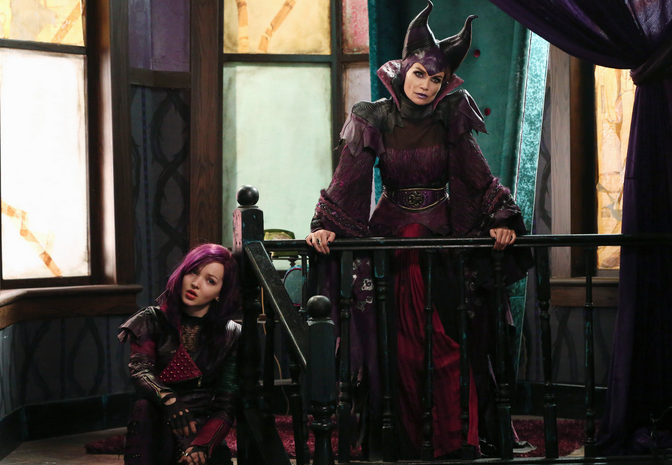 Maleficent in DESCENDANTS