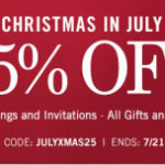 Tiny Prints Christmas in July Sale