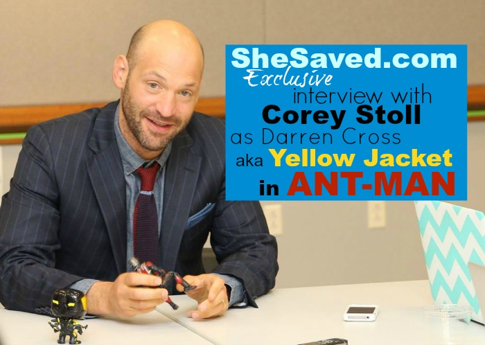 corey stoll exclusive interview
