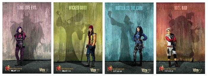 descendants posters