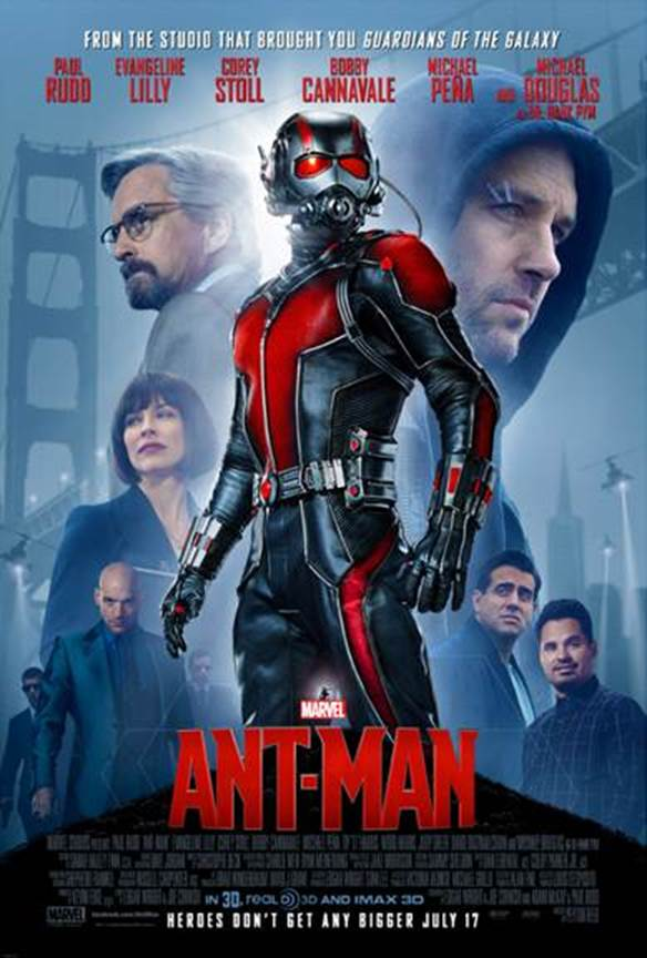 HEROES DON'T GET ANY BIGGER: ANT-MAN in Theaters NOW!