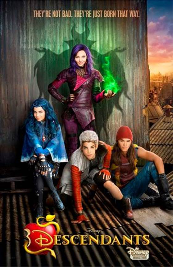 The Next Generations of Villains Arrives! Disney's DESCENDANTS Coming July 31st!