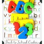 Back to School ABC Cookies