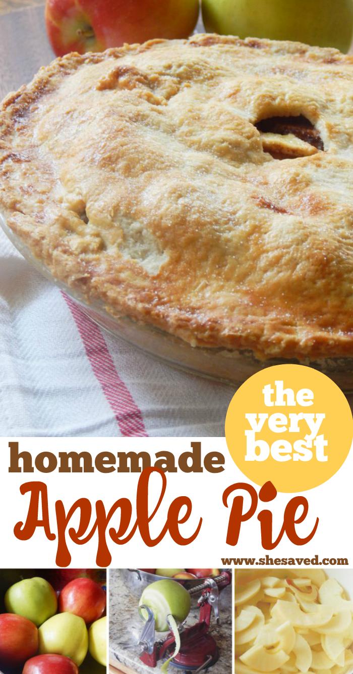 Best Homemade Apple Pie recipe