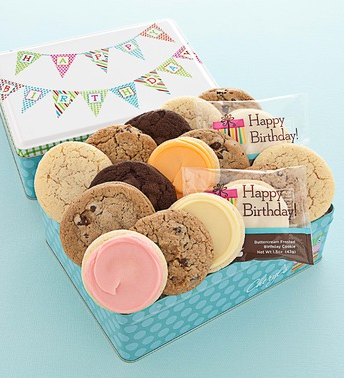 Birthday Cookie Tin