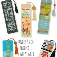 Bookmarks Make Great Gifts (Under $3.00 Shipped!)