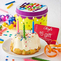 Confetti Mini Cake For $9.99 Shipped