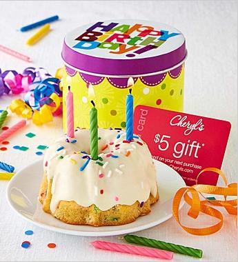 Confetti Mini Cake