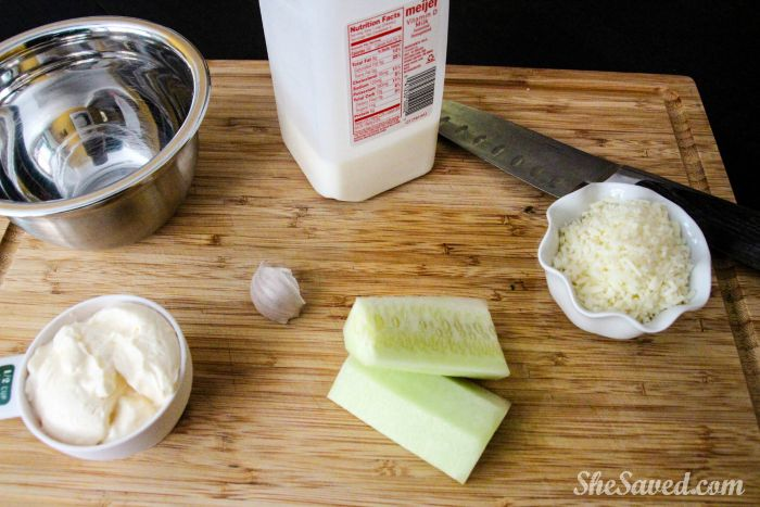 Homemade Cucumber Dip? Yes please! Easy to make and perfect for any gathering!