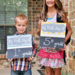 My First Day Of School Chalkboard For $21.99