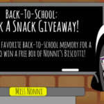 Nonni's Biscotti Back-to-School Giveaway