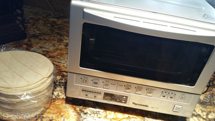 Panasonic FlashXpress Toaster Oven Summer Challenge SheSaved