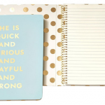 She is Quick and Curious and Playful and Strong Journal. GREAT gift idea!