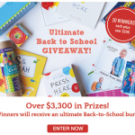 Little Passports Ultimate Back to School Sweepstakes