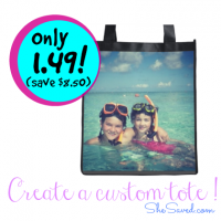 Custom Tote Bag For $1.49