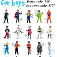 Halloween Ideas! Disney Costumes for Boys Under $30 Each!