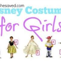 Halloween Ideas: Disney Costumes for Girls!