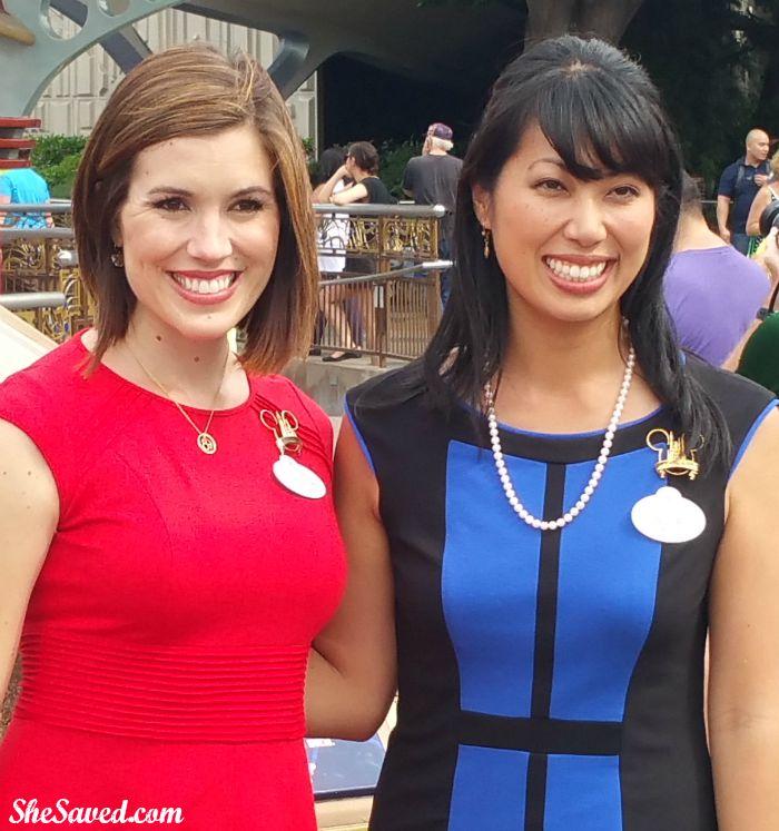 Disneyland Ambassadors Jessica Bernard and Allie Kawamoto