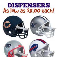 NFL Football Helmet Tape Dispensers: Starting at $8.00 Each
