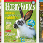 Hobby Farms Magazine for $9.99/year