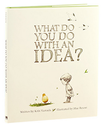 What do you do with an idea book for kids