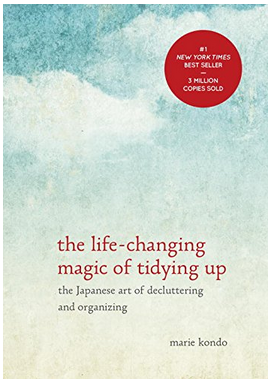 This book, The Life-Changing Magic of Tidying Up is LIFE changing...such a small investment for a huge life change!