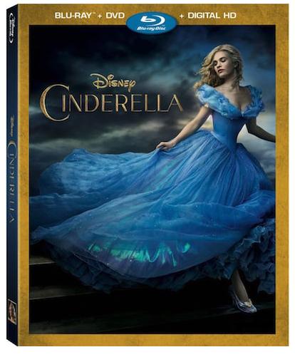 Cinderella Blu-ray DVD