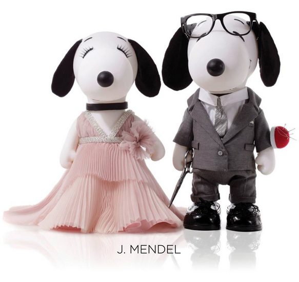 Snoopy and Belle Fashion