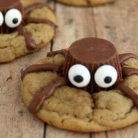 Halloween Treat: Spooky Spider Cookies