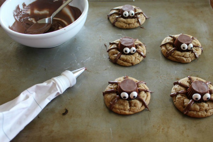 Spooky Spider Halloween Cookie Recipe