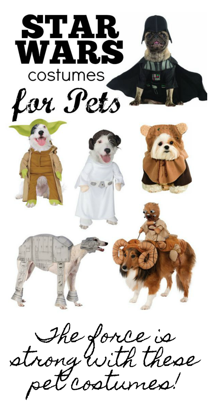 Star Wars Pet Costumes and Ideas for Halloween