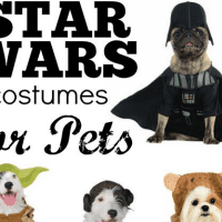 STAR WARS Costumes for Pets!