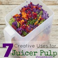 7 Creative Uses for Juicer Pulp
