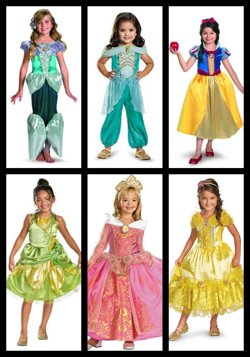 Disney Princess Costumes For Kids Shesaved