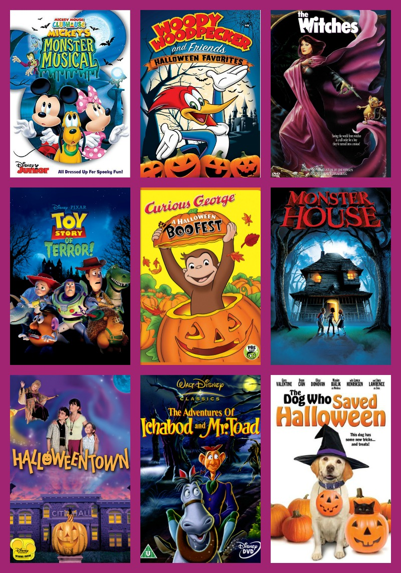 fun halloween movies for kids