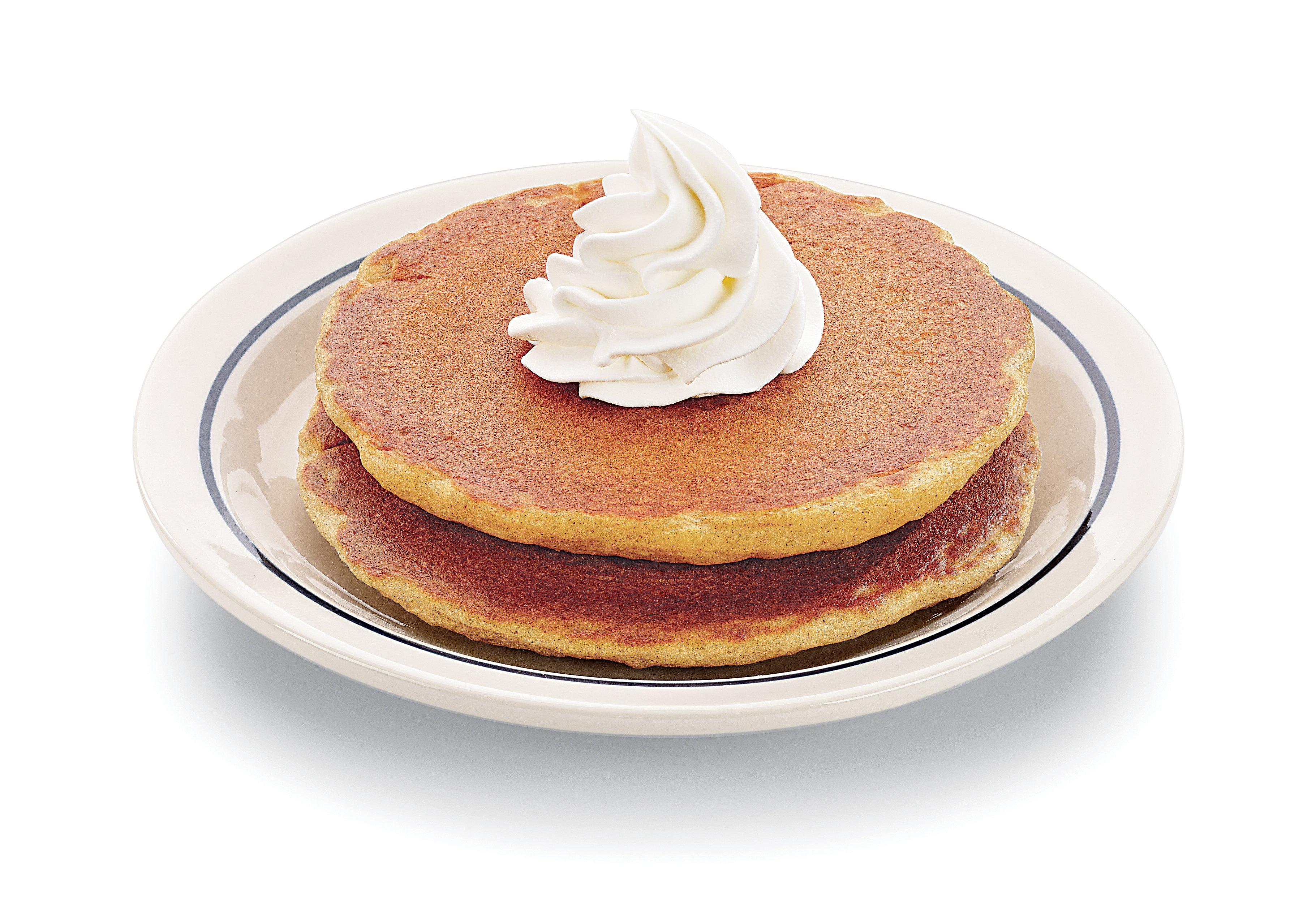 Pumpkin Pancakes 2 stack 3